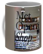 Met Opera Shop Coffee Mug