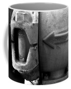 Metal Arrow Coffee Mug