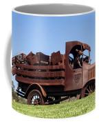 Metal Art Coffee Mug