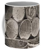 Metal Barrels 2bw Coffee Mug