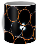 Metal Pipes Coffee Mug