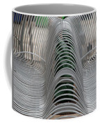 Metal Strips Coffee Mug