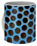Metal Texture Round Coffee Mug