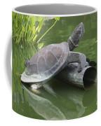 Metal Turtle Coffee Mug