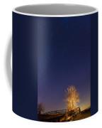 Meteor Shower Coffee Mug by Alexey Stiop