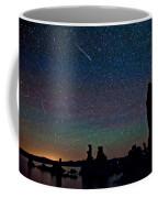 Meteors Over Mono Lake Coffee Mug