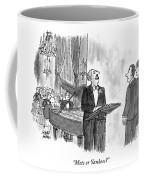 Mets Or Yankees? Coffee Mug