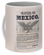Mexican American War Flyer Coffee Mug