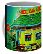 Mexican Grill Coffee Mug by Chris Berry