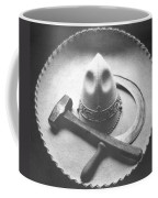 Mexican Revolution Sombrero With Hammer Coffee Mug