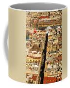 Mexico City Cathedral And Zocalo Coffee Mug by Jess Kraft