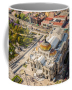 Mexico City Fine Arts Museum Coffee Mug by Jess Kraft