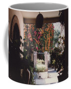 Mexico Garden Patio By Tom Ray Coffee Mug