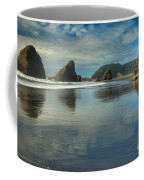 Meyers Creek Sea Stack Blues Coffee Mug
