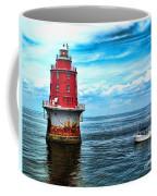 Miah Maull Shoal Lighthouse Coffee Mug