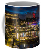 Miami Bayside And Freedom Tower Coffee Mug