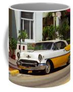 Miami Beach Classic Car Coffee Mug