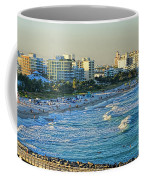 Miami Beach Sunset Coffee Mug