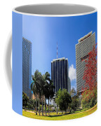 Miami Cityscape   Coffee Mug