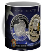 Miami Dade Police Memorial Coffee Mug