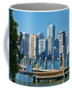 Miami On The Docks Coffee Mug