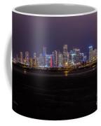 Miami Skyline Bay View Coffee Mug