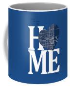 Miami Street Map Home Heart - Miami Florida Road Map In A Heart Coffee Mug