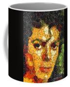 Michael Jackson In The Way Of Arcimboldo Coffee Mug