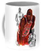 Michael Jordan Coffee Mug by Cory Still