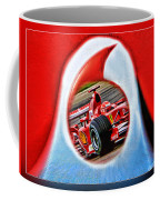 Michael Schumacher Though The Logo Coffee Mug