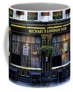 Michael's London Pub Coffee Mug by David Pyatt