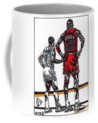 Micheal Jordan 1 Coffee Mug by Jeremiah Colley