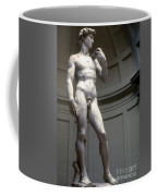 Michelangelo's David Coffee Mug