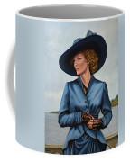 Michelle Pfeiffer Coffee Mug by Paul Meijering