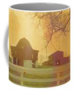 Michigan Barns Coffee Mug