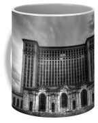 Michigan Central Station Bw Coffee Mug