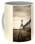 Michigan City Lighthouse Coffee Mug