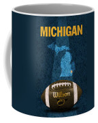 Michigan Football Poster Coffee Mug