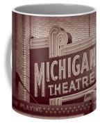 Michigan Theatre Coffee Mug
