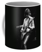 Mick In Flight 1977 Coffee Mug