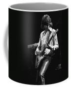 Mick In Flight 1977 Coffee Mug