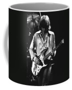 Mick On Guitar 1977 Coffee Mug