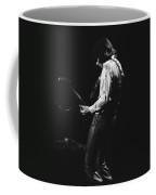 Mick Playing Guitar In 1977 Coffee Mug