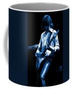 Mick Plays The Blues In Spokane 1977 Coffee Mug