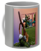 Mickey And Broom Floral Walt Disney World Hollywood Studios Coffee Mug