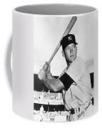 Mickey Mantle At-bat Coffee Mug
