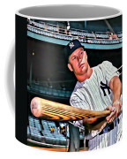 Mickey Mantle Painting Coffee Mug