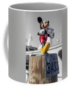 Mickey On A Post Coffee Mug
