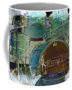 Mick's Drums Coffee Mug by Paulette B Wright