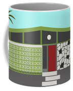 Mid Century Modern House 4 Coffee Mug